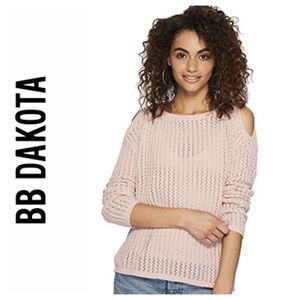 BB Dakota Cold Shoulder Sweater